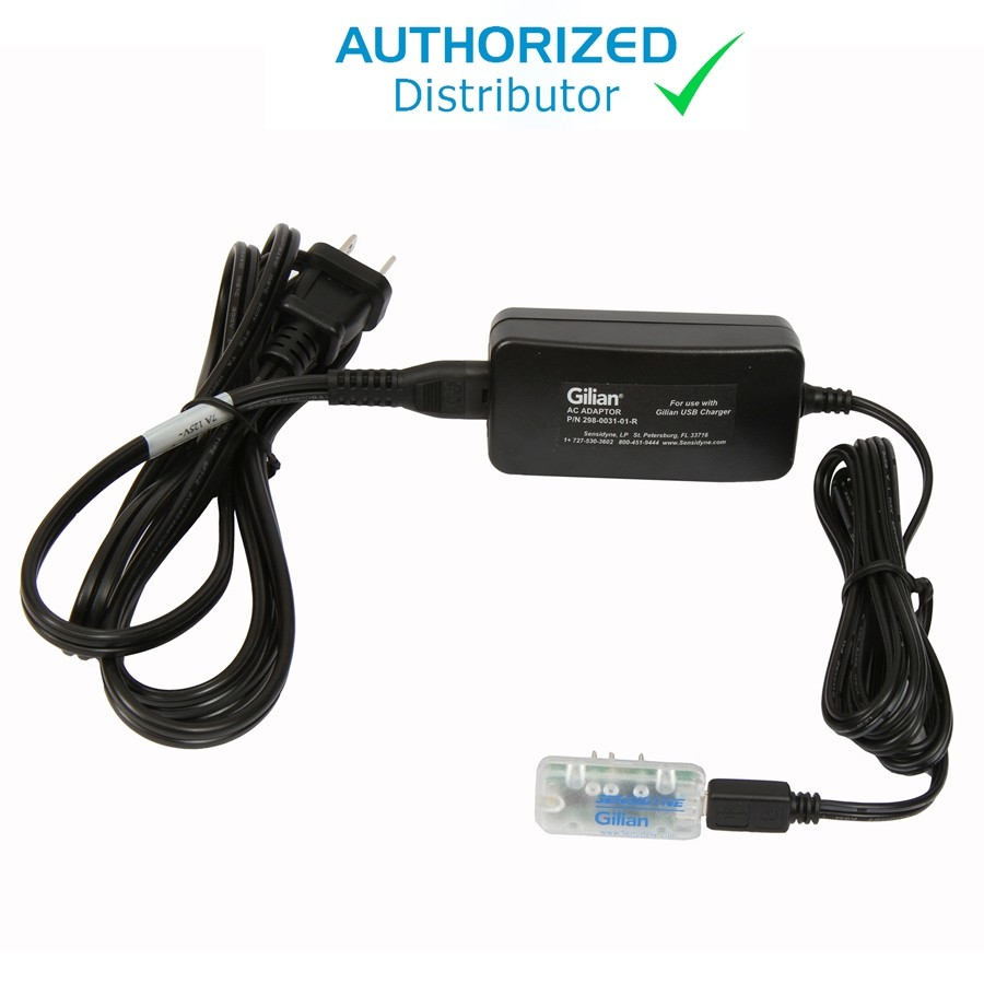 Single Unit Charger w/ Power Adapter, USB GilAir-3/5, US Cord