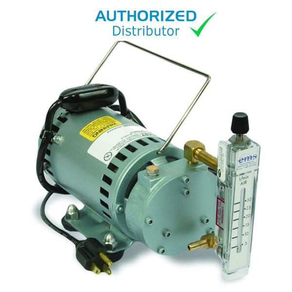 The Original Gast 3-30LPM IAQ Pump w/Tubing & Rotameter