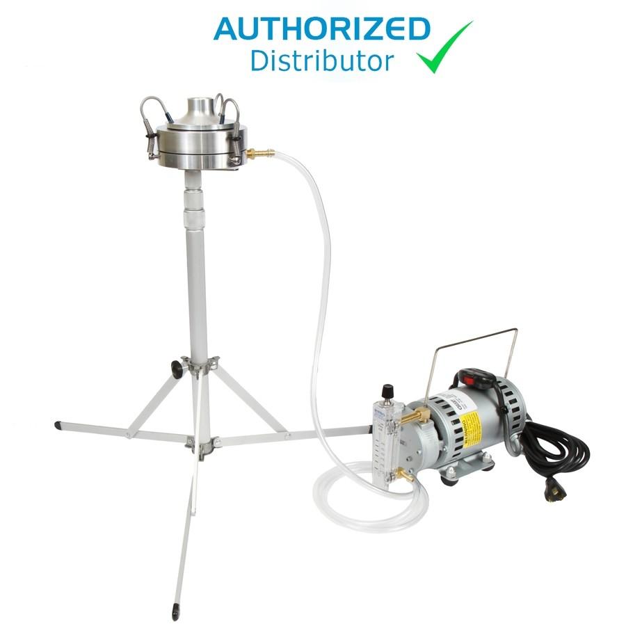 E6 Sampler Kit w/Impactor, Gast Pump, Rotameter, Stand & Case