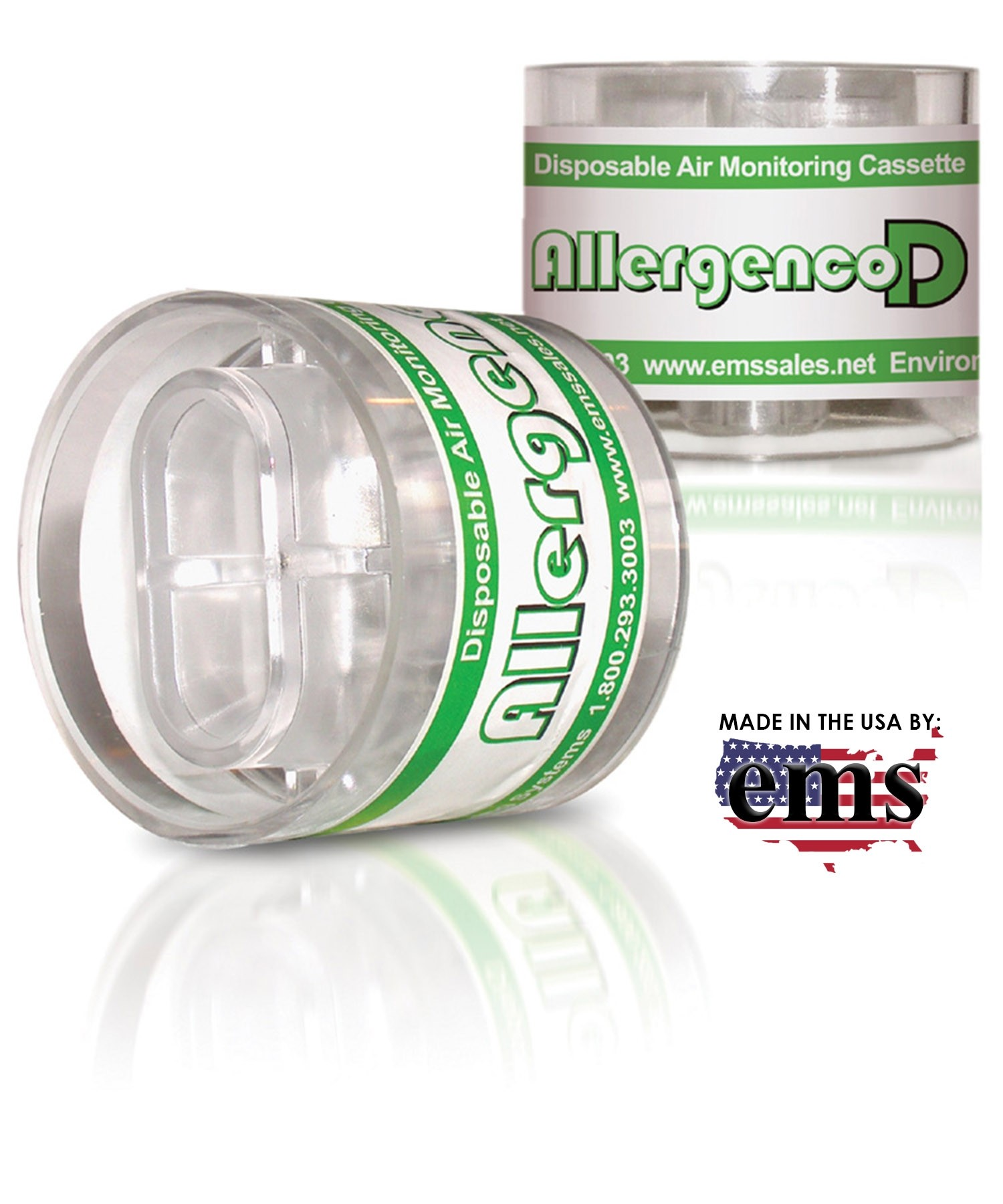 Allergenco-D Disposable IAQ Air Monitoring Cassettes, 10-pack