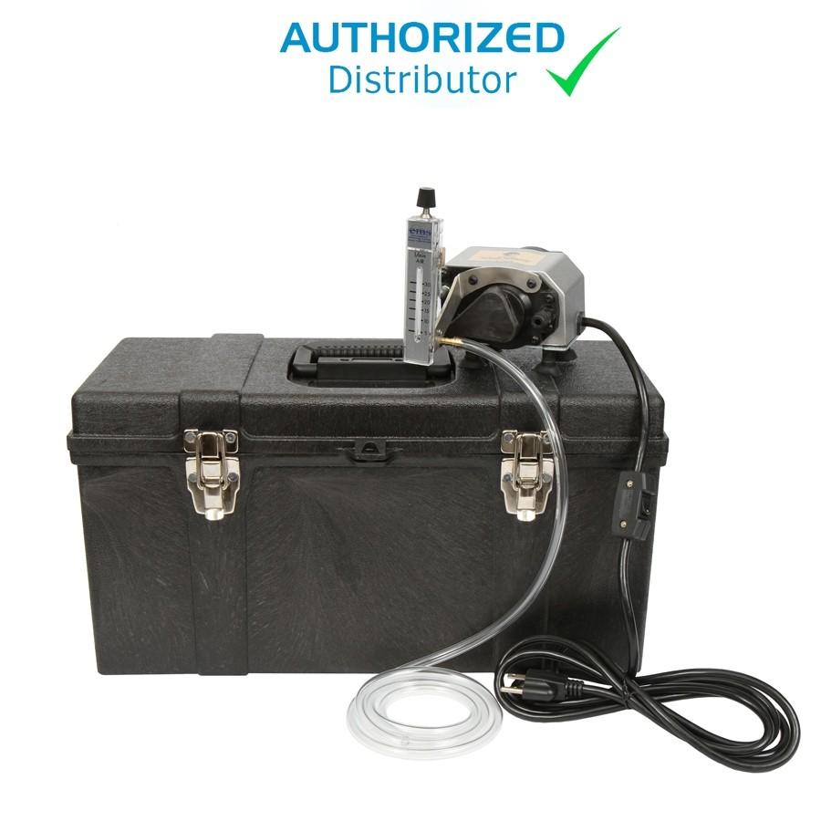 Thomas MegaLite IAQ Pump with Heavy Duty Case / Custom Foam