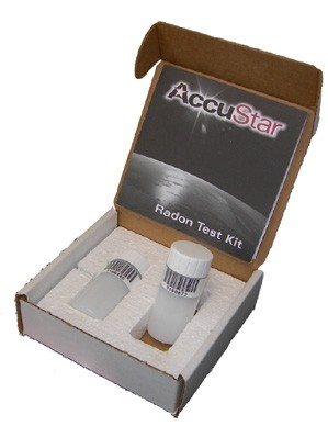 Accustar Radon Double Vial Test Kit