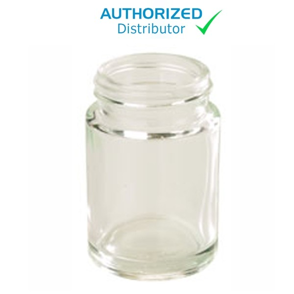 Glass Jar for Gast High Volume Pump (1531 Only)