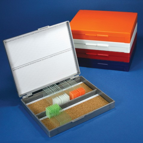 100 Slide Capacity Slide Box (Economy), Cork lined