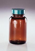 Amber Bottle w/PTFE Lined Lid, 1oz.