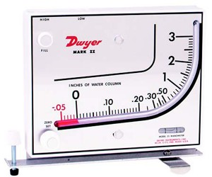 Dwyer Mark II Manometer Model 25