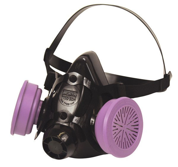 North by Honeywell 7700 Series Half Mask Respirator-Large