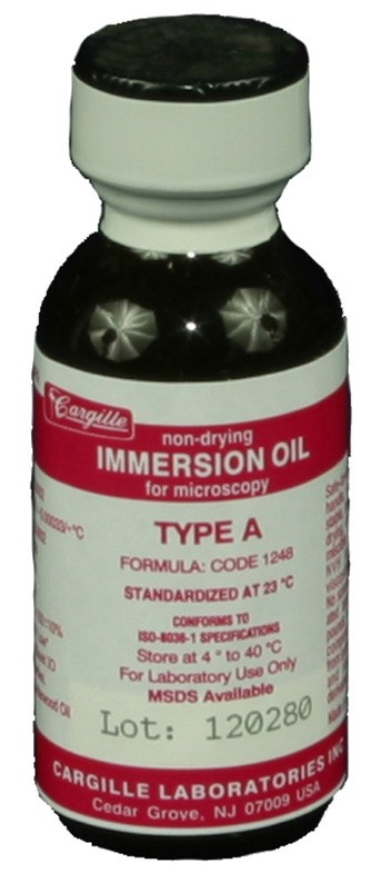 Immersion Oil, Type A (1 ounce)