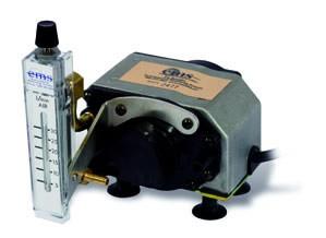 The Original Thomas MegaLite 230V IAQ Pump with Mounted 3-30LPM Rotameter