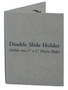 2-Capacity Slide Mailers (Holds 2 Slides) - Cardboard (1ea)