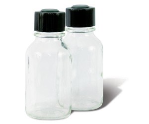 Glass Serum Bottle with Screw Top, 125ml