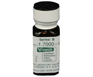 Cargille liquid, Series B; 1.70, 1/4 oz.
