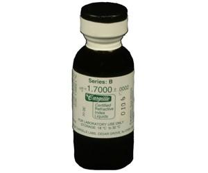 Cargille liquid, Series B; 1.70, 1 oz.