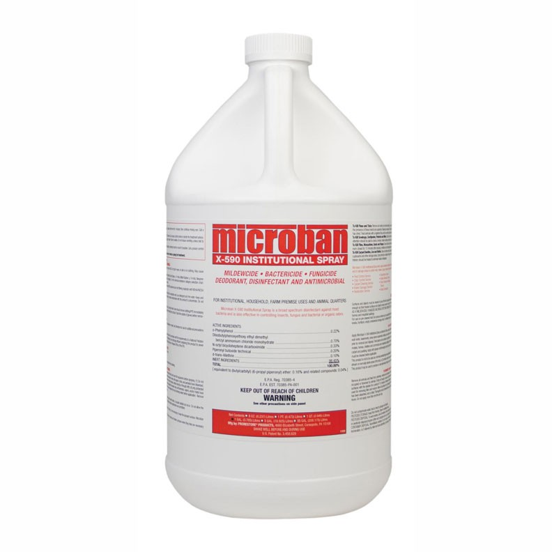 Microban X-590 Institutional Spray