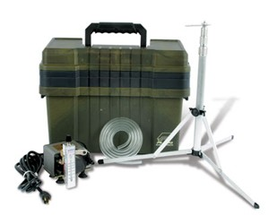 Basic Kit with MegaLite 230V Pump (for Allergenco-D/cyclex-d/Micro5/A-O-C)