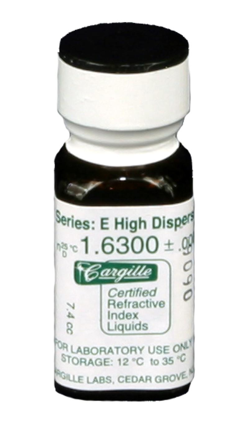 Cargille liquid, Series E; 1.630, 1 oz.