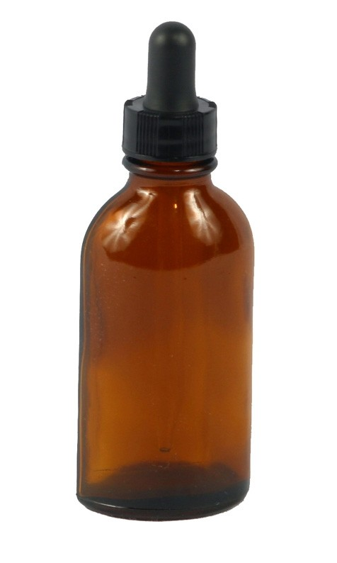 Amber Dropper Bottle, 1oz.