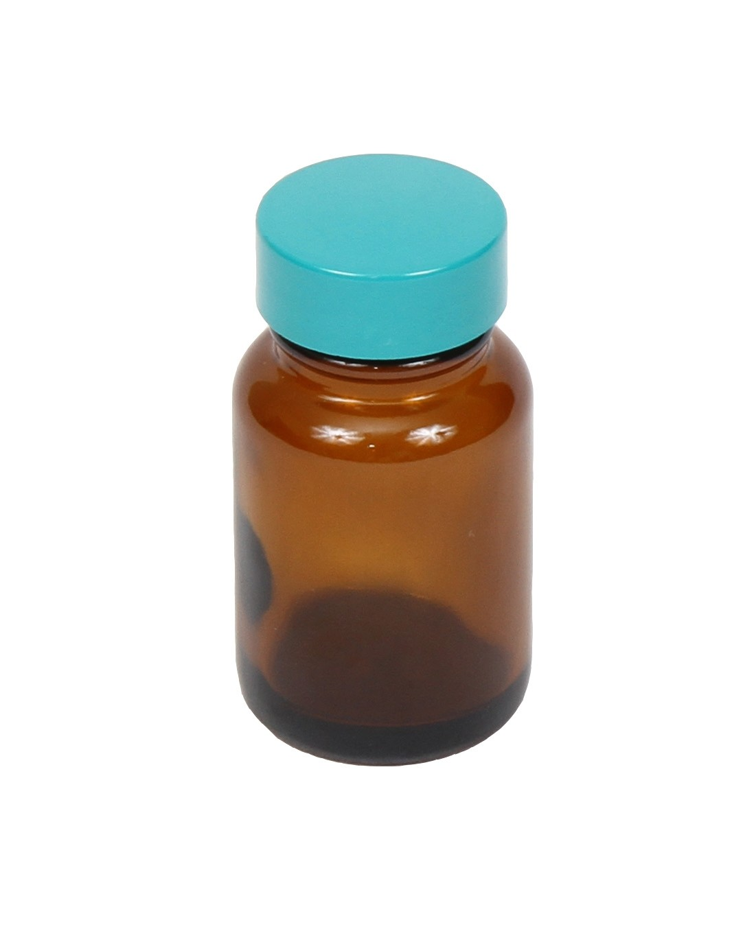 Amber Bottle w/PTFE Lined Lid, 1oz.