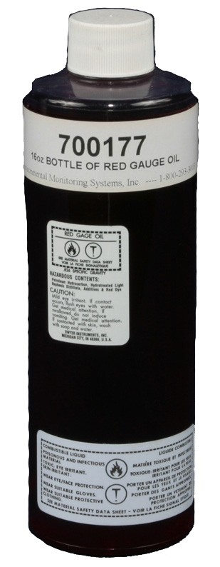 Red Gage Oil, 16 oz.