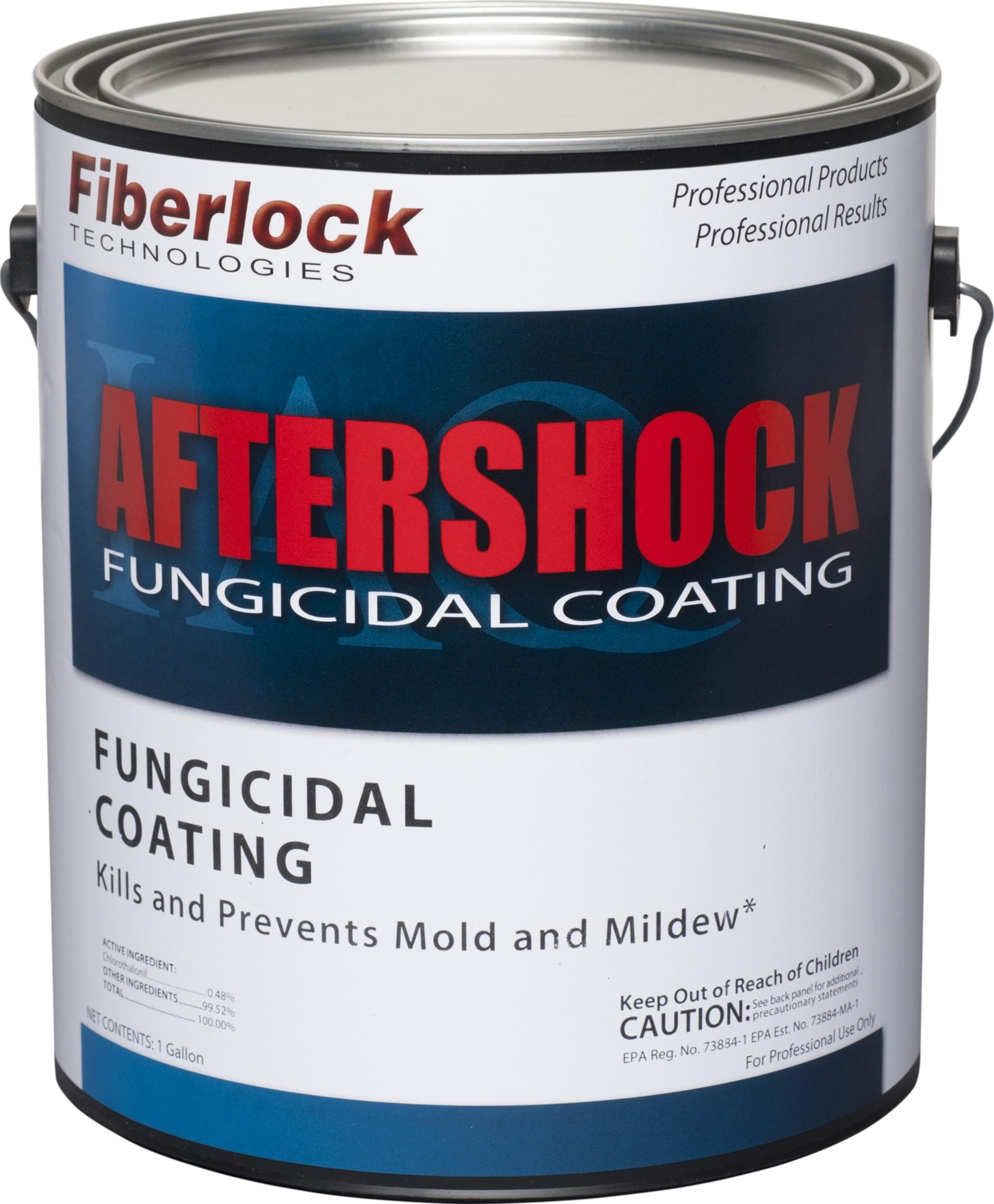 Fiberlock AfterShock Fungicidal Coating - WHITE (1 Gallon)