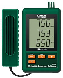 Extech SD800: CO2/Humidity/Temperature Datalogger