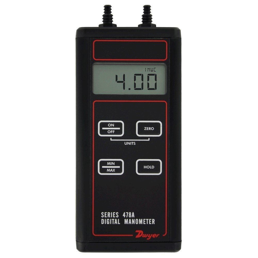 Dwyer Digital Manometer 478A-0