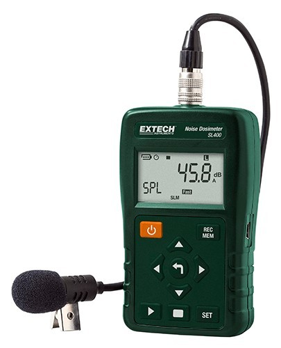 Extech SL400 Personal Noise Dosimeter with USB Interface