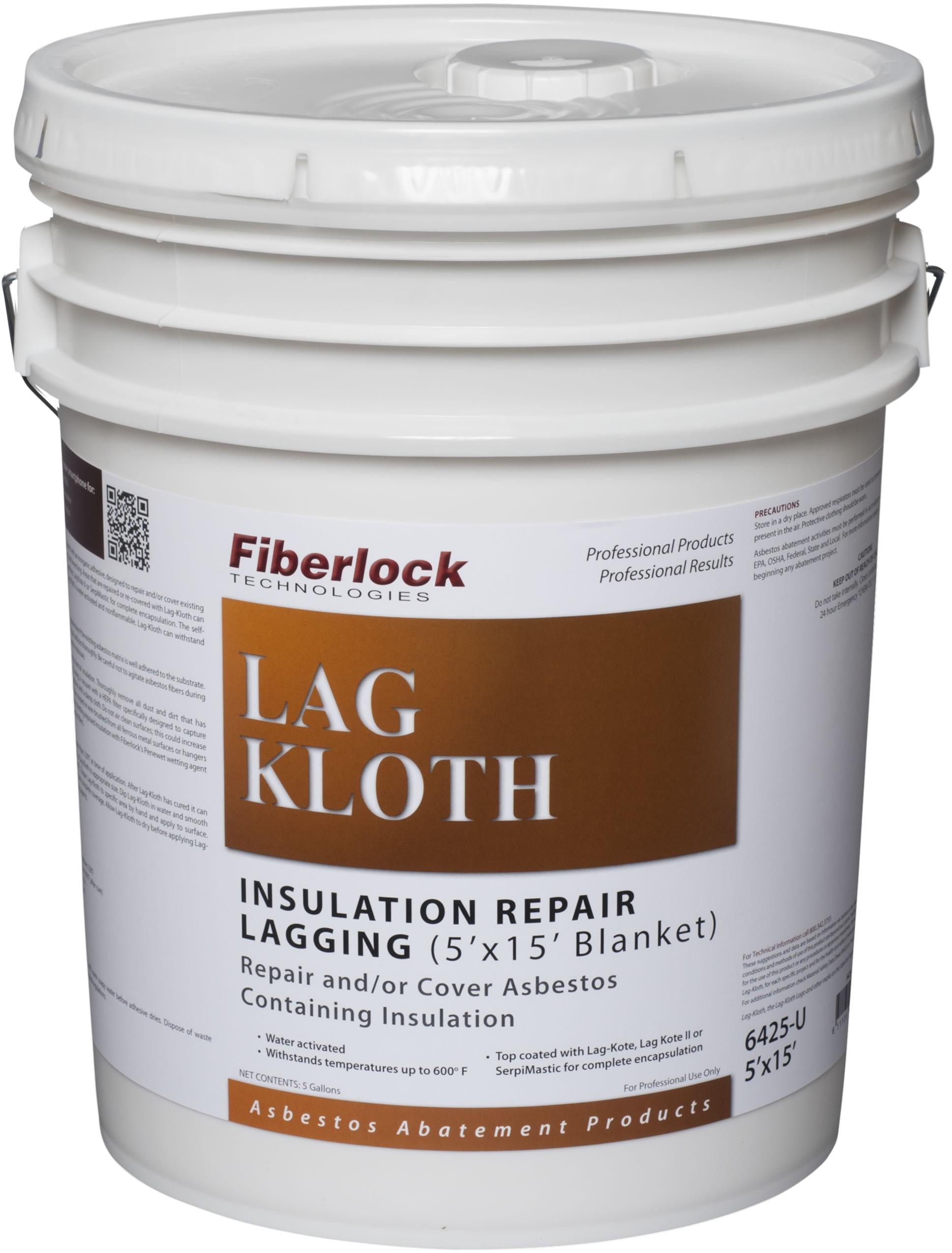 Fiberlock Lag-Kloth Water Activated Repair Cloth 5'x15' Blanket