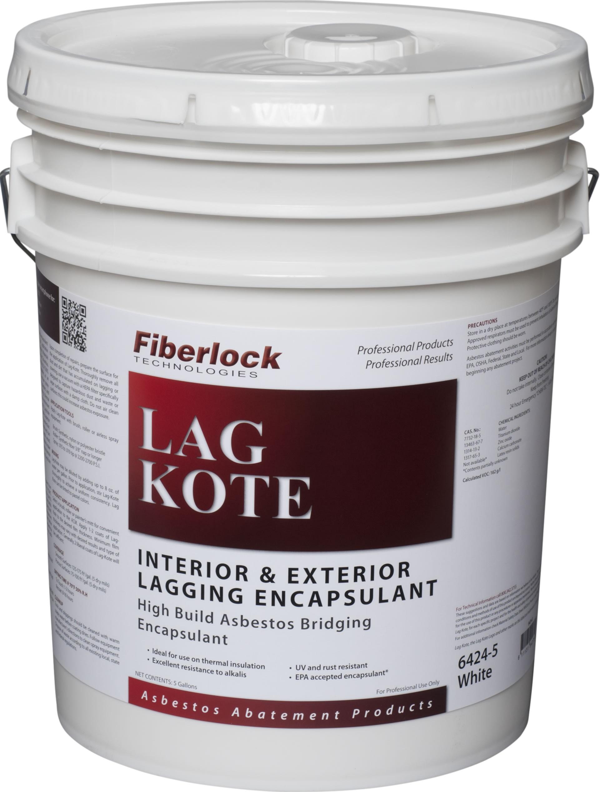 Fiberlock Lag-Kote II Bridging Encapsulant (5 gal.)