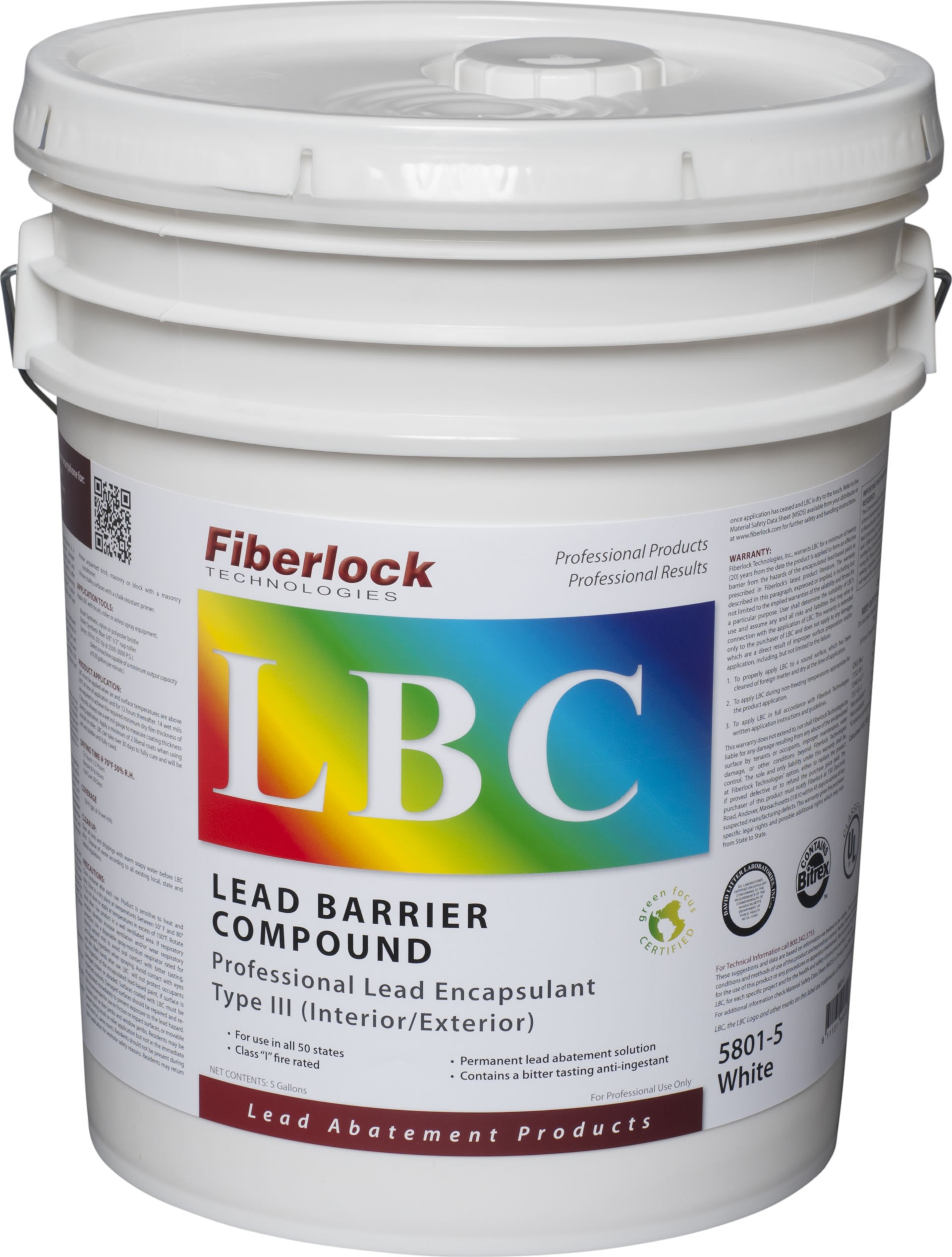 LBC Type III Industrial Lead Encapsulant (5 gal.)