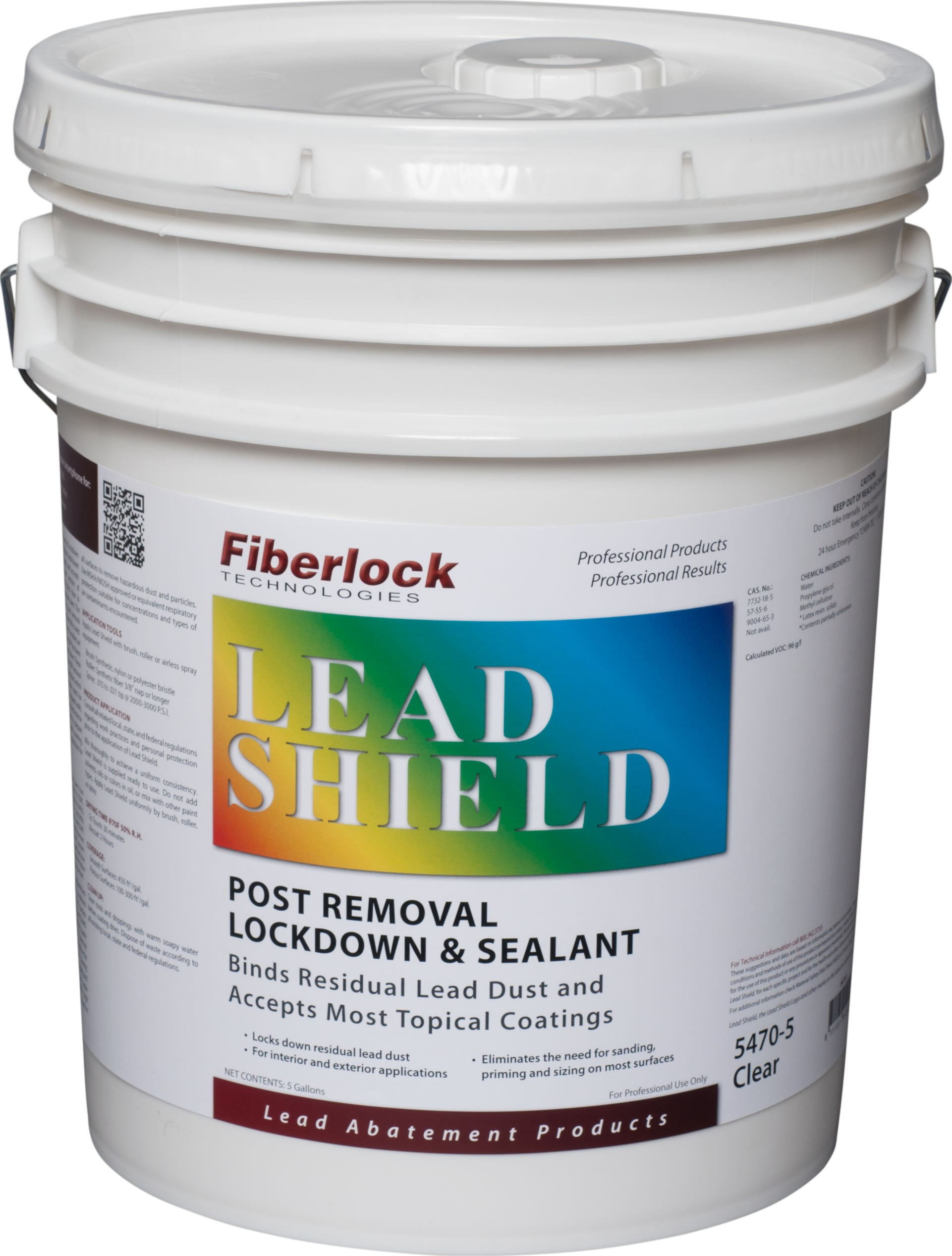 Fiberlock Lead Shield - Post Removal Lockdown (5 gal.)