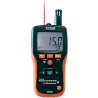 Extech MO290 Pinless Moisture Psychrometer + IR Thermometer