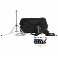 "Basic Kit with E-MaxX® IAQ Pump (for Allergenco-D/cyclex-d/Micro5/A-O-C) in 20"" CANVAS WORK BAG w/custom foam"