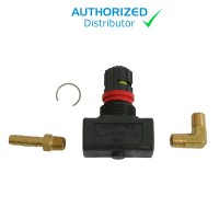 Locking Flow Valve Assembly for Gast 1531 (assembly required)