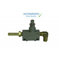 Locking Flow Valve Assembly for Gast 1532 and e-maxx pumps