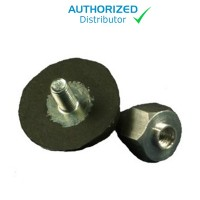 Gast Replacement Rubber Foot with Locking Nut
