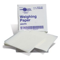 "Glassine Weighing Paper, 4"" x 4"" (500pk)"