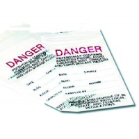 Zip-Bag 3 x 5 Danger, 1000/ea