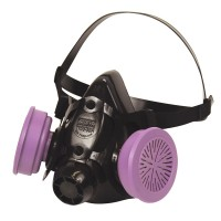 North by Honeywell 7700 Series Half Mask Respirator-Medium