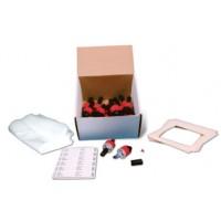 Vacuum Dust Sampling Kit with 25mm 0.8μ MCE Molded Samplers