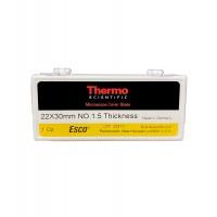 22 x 30mm Cover Glass, #1.5, Esco,Epredia (10 1 OZ Boxes)