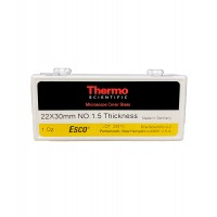 22 x 30mm Cover Glass, #1.5, Esco/Epredia (1 OZ Box)