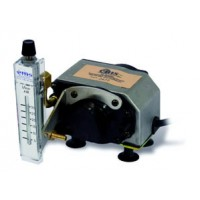The Original Thomas MegaLite 230V IAQ Pump with Mounted 3-30LPM Rotameter