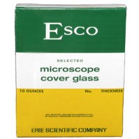 "22 x 22mm Coverslips, #1.5, Esco Brand ""Premium"" (100/ea)"