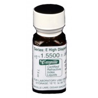 Cargille liquid, Series E; 1.550, 1/4 oz.