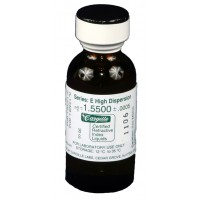 Cargille liquid, Series E; 1.550, 1 oz.