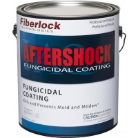 Fiberlock AfterShock Fungicidal Coating - WHITE (4 x 1 Gallon)