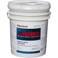 Fiberlock AfterShock Fungicidal Coating - WHITE (5 gal.)