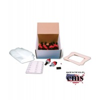 Vacuum Dust Sampling Kit with 25mm 0.8μ MCE Molded Samplers
