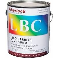 Fiberlock LBC Type III Industrial Lead Encapsulant - White, 1 gal. (4/case)